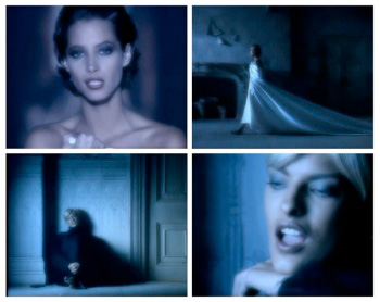 George Michael's Freedom Video Screenshot