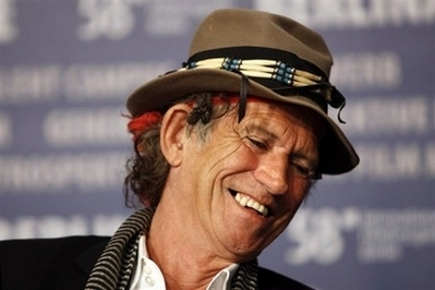 Keith Richards new frontman for Louis Vuitton