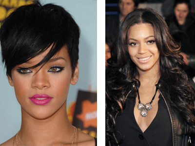 When it comes to taking chances Rihanna is the clear winner.