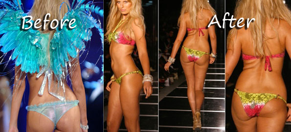 Critics slam Victoria's Secret model Karolina Kurkova for being too fat