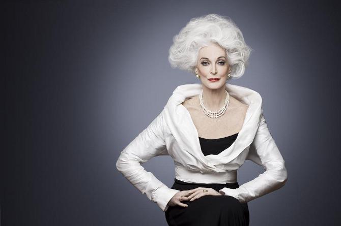 Старые красивые женщины